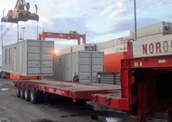 Transporte de generadores