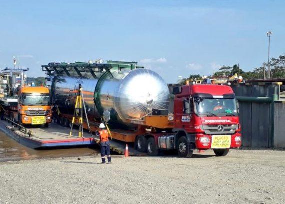 Delivery of Separators Cap. 180.000 bls