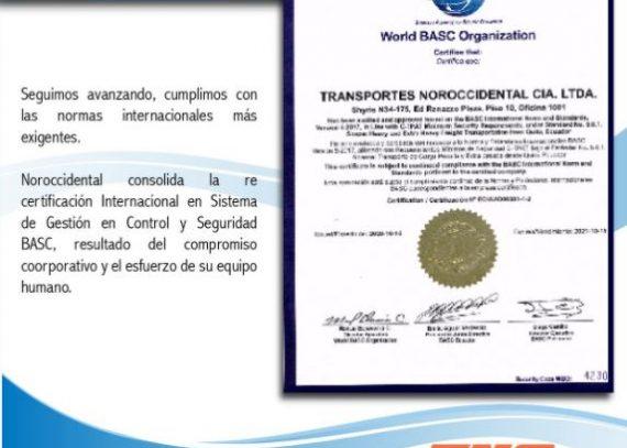 BASC Certification